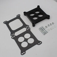 "New 1"" Ported Phenolic Carburetor Spacer 4bbl Fit For Holley SB Chevy Ford"
