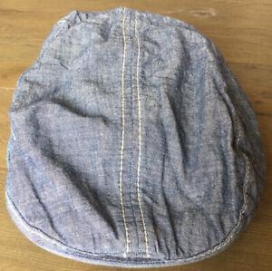 BabyGap Denim-effect Flat-Cap (Size XS i.e. 49cm) - Excellent Condition