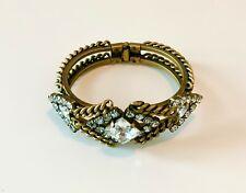 Swarovski crystal bracelet Elizabeth Cole Gold-plated