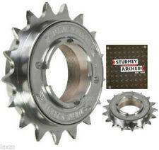 Cassettes y piñones de acero para bicicletas con 8 velocidades