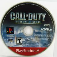Call of Duty: Finest Hour Sony PlayStation 2 2004 PS2 Disc Only