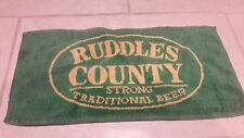 Ruddles County Strong Traditional Beer Towel rare 20+ years old