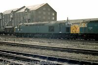 British Rail Class 40080 Warrington Arpley 02/03/83 Rail Photo