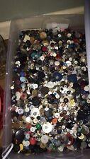 Grab Bag Of Sewing Buttons Some Vintage Or Older 600+