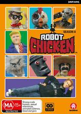 ROBOT CHICKEN Season 8 (Region 1) DVD The Complete Eighth Series Eight