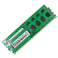 8GB 2x4GB 2Rx4 PC3-12800 DDR3-1600Mhz Non-ECC Unbuffered AMD Desktop Memory RAM