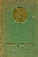 MOSTRA DI PITTORI GENOVESI DEL 600 E DEL 700 GENOVA PALAZZO REALE 1938