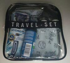 Wilkinson Sword Hydro 5 Travel Kit * Set Etui + Rasierer +Reiseflaschen + Schaum