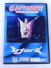 BJORK  -  GLASTONBURY  -  22 JUNE 2007  -  DVD NUOVO NON  SIGILLATO