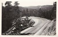 1940s Vintage Real Photo Post Card EkC RPPC - Blewett Pass Highway Washington