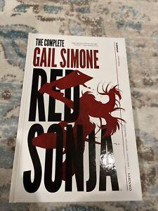 The complete Gail Simone Red Sonja omnibus- unread