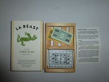 La Beast Classic Card Game From Italy  B208