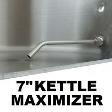 """MAXIMIZER 7"""" ALL STAINLESS WITH COUPLER FOR BREW KETTLE MASH TUN HOT LIQUOR TANK"""