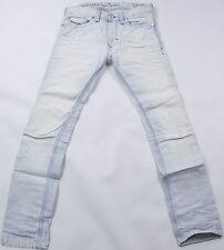DIESEL Nuovo di Zecca THANAZ 8880 L Jeans 28x32 Slim Skinny Fit Tapered Gamba NUOVO CON ETICHETTA