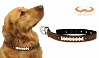 GameWear NFL Leather Football Lace Dog Collar *Select Team And size*