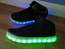 SKECHERS ENERGY LIGHTS LED RECHARGEABLE LIGHT UP ANKLE BOOTS UK SIZE 7 EU41