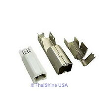 3 x USB Type B Male Connector - USA Seller - Free Shipping