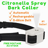 2019 CITRONELLA SPRAY STOP BARK COLLAR USB Rechargeable AUTOMATIC 0-66cm BELT