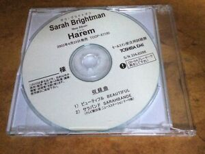 SARAH BRIGHTMAN - Beautiful - 2003 Japanese promo-only 2-track EMI CD-R acetate.