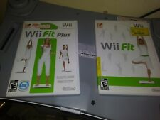 Wii Fit Plus n Wii Fit with Balance Board
