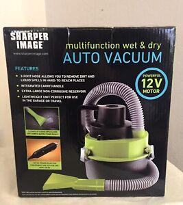 Car Vacuum Sharper Image 12 volts Wet/Dry Vacuum Corded Brand New