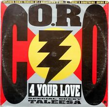 DISCO VINILE 33 GIRI CO.RO. Special Guest Taleesa ‎– 4 Your Love ITALY