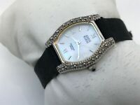 Anne Klein Swiss Diamond Women Watch Analog Crystal Accents Wrist Watch