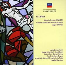 Neville Marriner - Bach J.S: Mass in B minor / Cantata BWV 56 [New CD] Australia