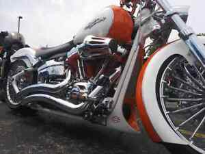 Harley Davidson custom softail spoiler all 2013 to 2017 inclusive
