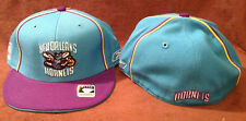 New Orleans Hornets Throwback Reebok NBA Fitted Hat Teal/Purple Size 7 1/4