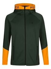 Peak Performance Mens Rider Zip Hooded, Drift Green - Medium