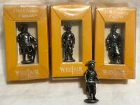 3 Westair 17th Century Metal Figures and 1 Roman Soldier
