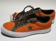 Converse One Star Pro Ox Orange Green Casual Skating Shoes 161617C Size 9.5 NWOB