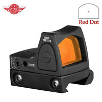 Mini RMR Red Dot Tactical Sight Collimator Hunting Rifle Airsoft Scope Fits 20mm