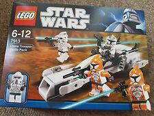LEGO Star Wars Clone Trooper Battle Pack (7913) BNIB
