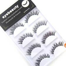 New EA20E beauty fake eye lashes POPULAR MESSY CROSS False eyelashes Makeup