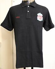 LIVERPOOL S/S BLACK POLO SHIRT SIZE ADULTS SMALL BRAND NEW OFFICIAL MERCHANDISE