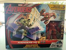Marvel Avengers Age Of Ultron Hq Hulk Buster Breakout 2015 Hasbro Mint