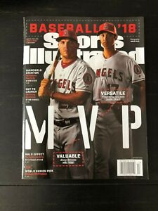 Sports Illustrated Magazine Mag Mike Trout Shohei Ohtani Los Angeles Angels MLB