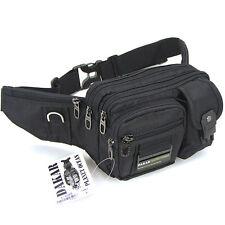 New Black Waist Fanny Pack Bum Belt Bag Pouch Travel Hip Purse Mens Women gift