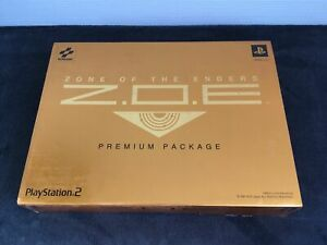 PS2 Zone Of The Enders Premium Package JAP CD état neuf