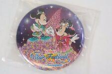Tokyo Disney Resort Button Star Festival TANABATA 2007 Mickey Minnie TDR JAPAN