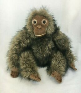 Dakin Large Monkey Stuffed Animal Plush Vintage Blown Soft Toy Ape Monkey
