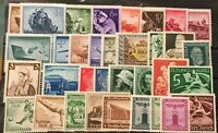Germany,Assortment Collection , Lot of III REICH 1941 - 1945 Stamps  M/NH