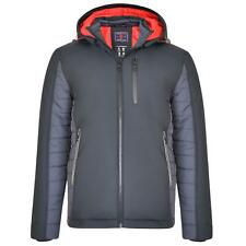 KAM Mens Big Size Hooded Performance Jacket (KBS KV107)