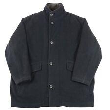 VGC Hugo Boss Virgin Wool Coat with Liner | Men's XL | Vintage Woolen Pea Jacket