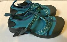 CHACO Teal Girls VITIM ECOTREAD WATER SHOES YOUTH SIZE 3