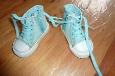 OBAIBI D'OKAIDI Baskets tennis chaussures toile  vert fille garçon pointure 20