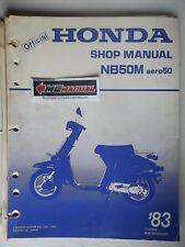 NB50M 1983 NB50M Aero50 NB 50 M Service Shop Repair Manual - NOT A COPY 2383
