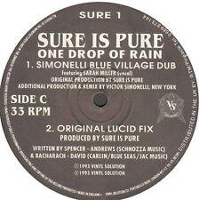 SURE IS PURE One Goutte Of Rain Original,Simonelli Rmxs Vinyl Solution SÛR 1